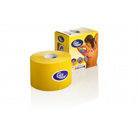 Curetape water-resistant 5mtr-5 cm geel